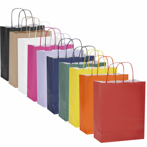 Party Bags / Gift Bags, Kraft Paper Twisted Handle