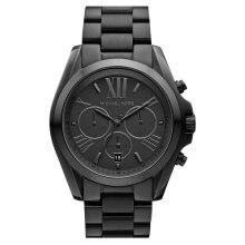 Michael Kors Bradshaw Chronograph Black Ion-plated Mk5550 Unisex Watch