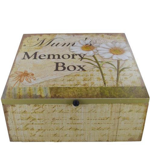 Mum Daisy Memory Box Keepsake Chest Memories