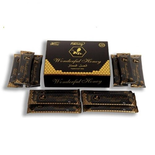 (As Seen on Image) Wonderful Honey Natural Aphrodisiac, 15 g X 12 pieces, Fast Delivery