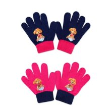 Official Girls Paw Patrol knitted gloves