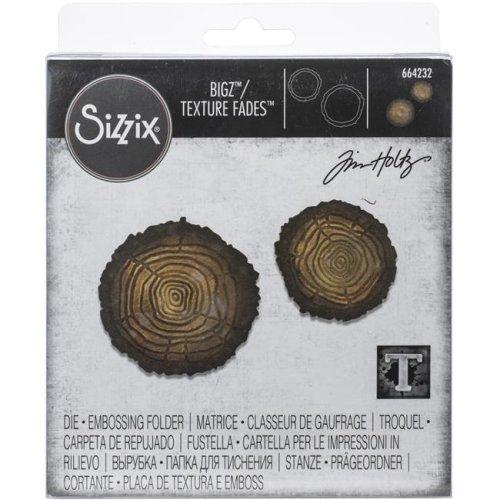 Sizzix 664232 Mini Tree Rings Bigz & Tex Fade