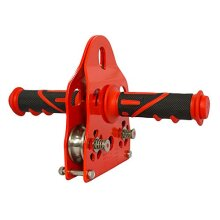 Fusion climb Z-Max Speed Stainless Steel Pulley grip Red Trolley