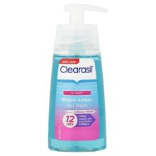 Clearasil Ultra Rapid Action Gel Wash, 150ml