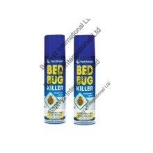 2 X 200ml PestShield BED BUG KILLER SPRAY -Tick Mites Bugs Terminator