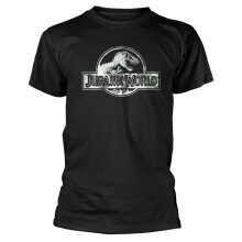 Jurassic World 'Logo' (Black) T-Shirt