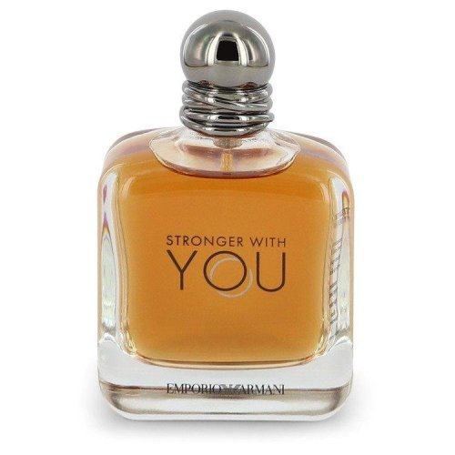armani aftershave stronger with you