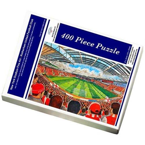 (Jigsaw Puzzle (400 Pieces)) New York Stadium Fine Art - Rotherham United Football Club (Jigsaw Puzzle)