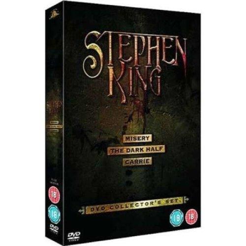 Stephen King - Misery / The Dark Half / Carrie DVD [2006]