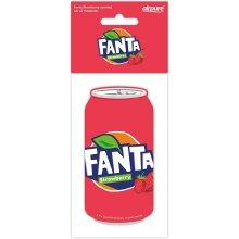 Fanta - 2D Car Air Freshener - Strawberry