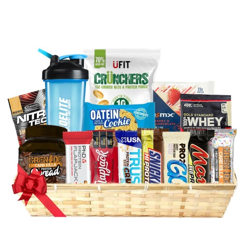 Large Gift Basket High Protein Hamper for Any Occasion