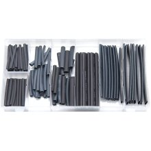 Rolson 61299 Heat Shrink Wrap Assortment - 127 Pieces