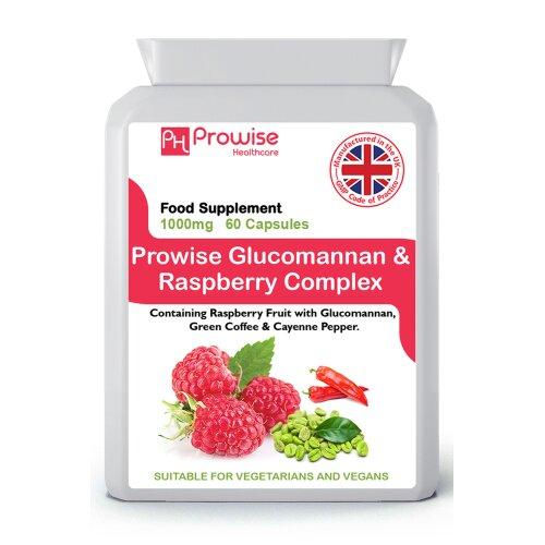 Prowise Glucomannan & Raspberry Complex