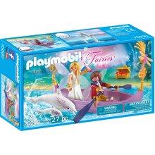 Playmobil 70000 Fairies Romantic Fairy Boat 27PC Playset