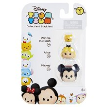 Tsum Tsum 3-Pack Figures: Mickey/Alice/Pooh