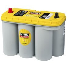 Optima Battery Yellow Top 12 V 75 Ah YT S-5.5 for Automotive Vehicle Boat RV