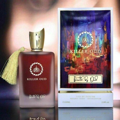 Killer Oud Death by Oud Men's Fragrance EDP Spray 100ml Paris Corner Perfume