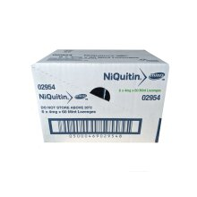 NiQuitin Minis 4mg Mint 60 Lozenges (3x20) - BOX OF 6