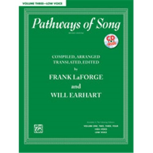 Alfred 00-38063 PATHWAYS OF SONG 3-LO-BK&CD