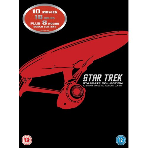 Star Trek: Stardate Collection - The Movies 1-10 (Remastered) [1979] (DVD)
