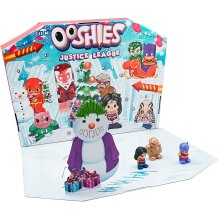 Ooshies 77171.003 DC Justice League Advent Calendar, Multicolour