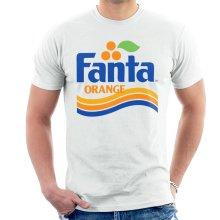 Fanta Orange 1980s Retro Wave Logo Men's T-Shirt