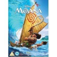 Moana DVD | 2016 - Used