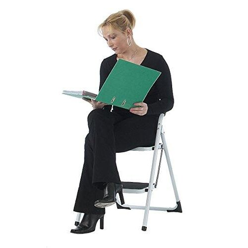 Practical Panda GS402Z Folding 2 Step Ladder, GS Approved Premium