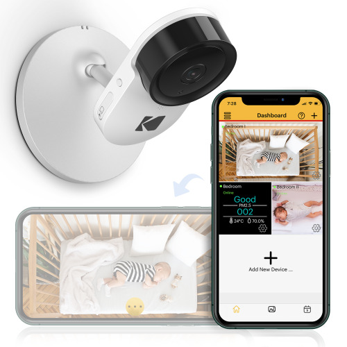 KODAK Cherish C120 Smart Baby Camera | Wi-Fi Video Monitor