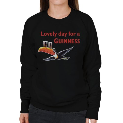 Lovely Day For A Guinness Women's Sweatshirt