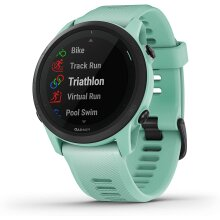 Garmin Forerunner 745, GPS Running Watch, Detailed Training Stats and On-Device Workouts, Essential Smartwatch Functions, Tropic (010-02445-