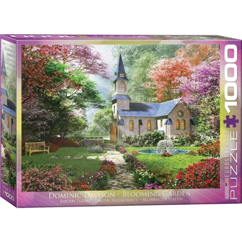 Eg60000964 - Eurographics Puzzle 1000 Pc - Blooming Garden