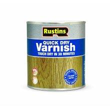 Quick Dry Varnish - Satin Clear - 250ml