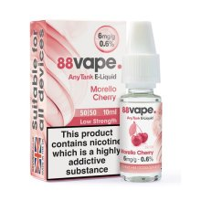 Kik E-Liquid 88Vape 6mg Morello Cherry box of 20 liquids