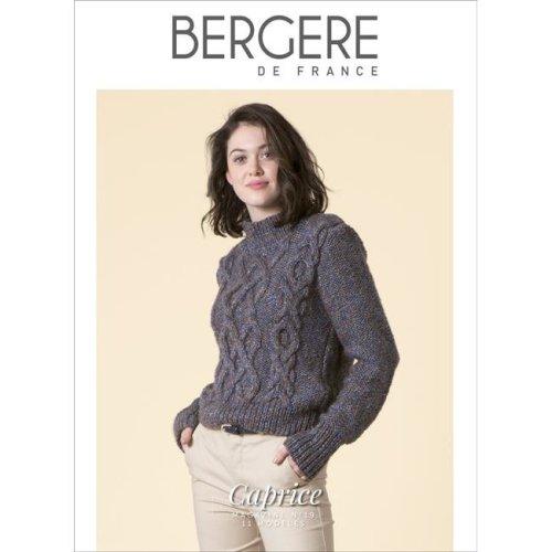 Bergere De France BF60694 No.19 Magazine - Caprice