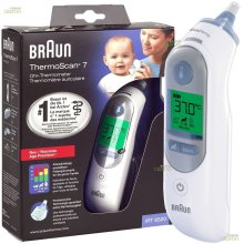 Braun ThermoScan 7 Age Precision Digital Ear Thermometer