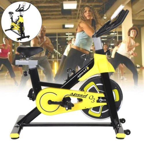 Indoor Exercise Bike Gym Training CycleHome Fitness Workout Adjustable