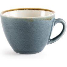 Olympia Kiln GP346 Cappuccino Cup Ocean, 230 mL (Pack of 6)