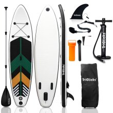 SUP Board Inflatable Stand Up Paddle Board 300x76x15cm for Adults/Kids Package Kit