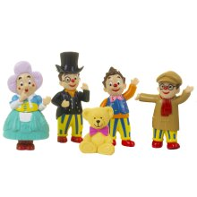 Mr Tumble and Friends Figurine Set With 5 Individual Figurines Including Mr Tumble For Ages 3+