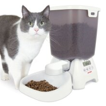 Cat Automatic Feeder For Dry Food 3kg Capacity
