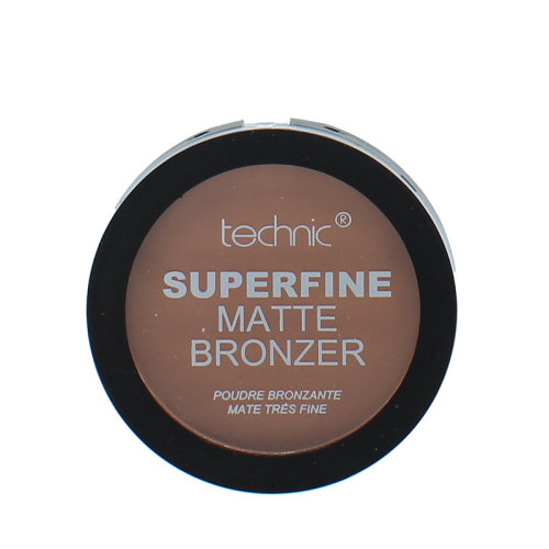 Technic Superfine Powder Matte Bronzer Compact ~ Dark