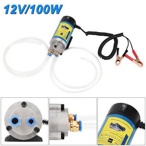 12V100W Electric Oil Extractor Fluid Diesel Pump Siphon Motorbike