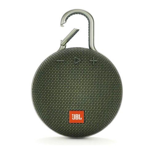 JBL Clip 3 Portable Bluetooth Speaker - Green, Green