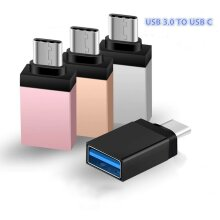 USB 3.0 Type A Female to USB 3.1 Type C Male OTG Host Converter Adapter