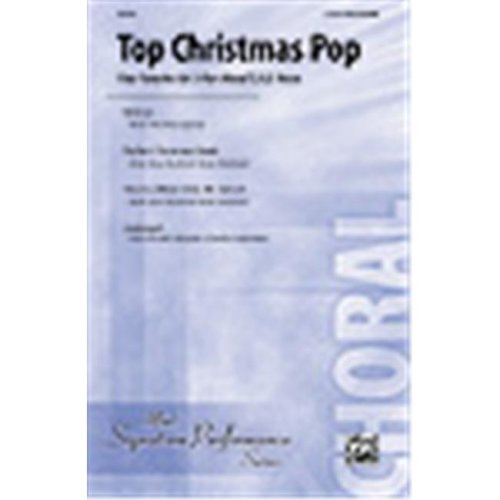 Alfred 00-31272 Top Christmas Pop - Music Book