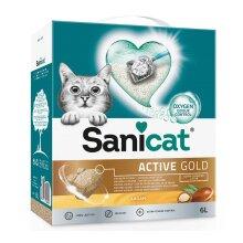 Sanicat Active Gold Cat Litter 6L