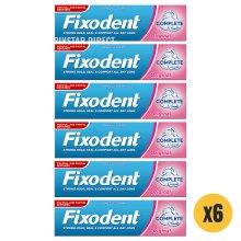 Fixodent Original Complete Denture Adhesive Cream 47g x6