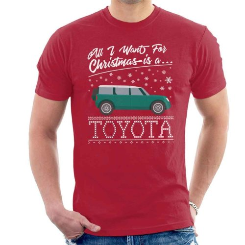All I Want For Christmas Is A Toyota Men's T-Shirt