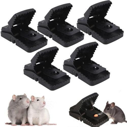 5pc Heavy Duty Self-Setting Rat Traps   Aggressive Rodent Traps